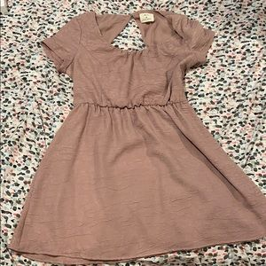 Urban outfitters mauve dress